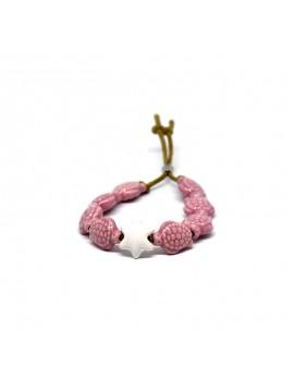 Bracciale Tartaruga Rosa