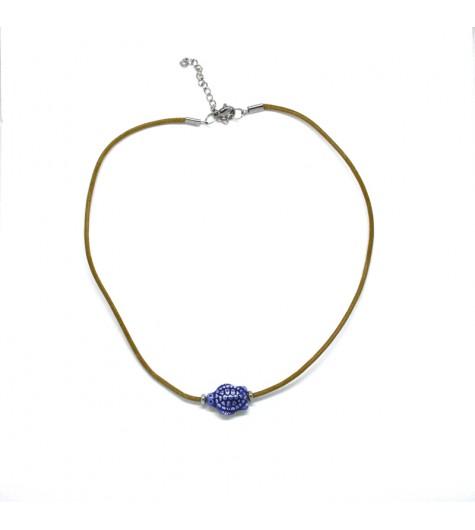 Collana Tartaruga Blu